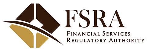 the Financial Services Regulatory Authority (FSRA) logo